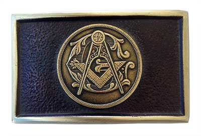 master mason freemason belt buckle