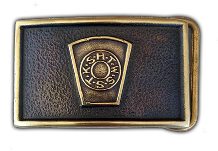 capstone of royal arch freemason belt buckle